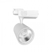 Faretto LED Bianco a binario 20W Monofase faro super compatto COB FB-38-20W