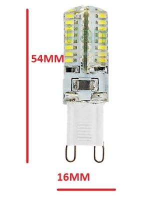 Lampadina led G9 5W 64 Led risparmio bianco lampada Caldo Lampadine ...