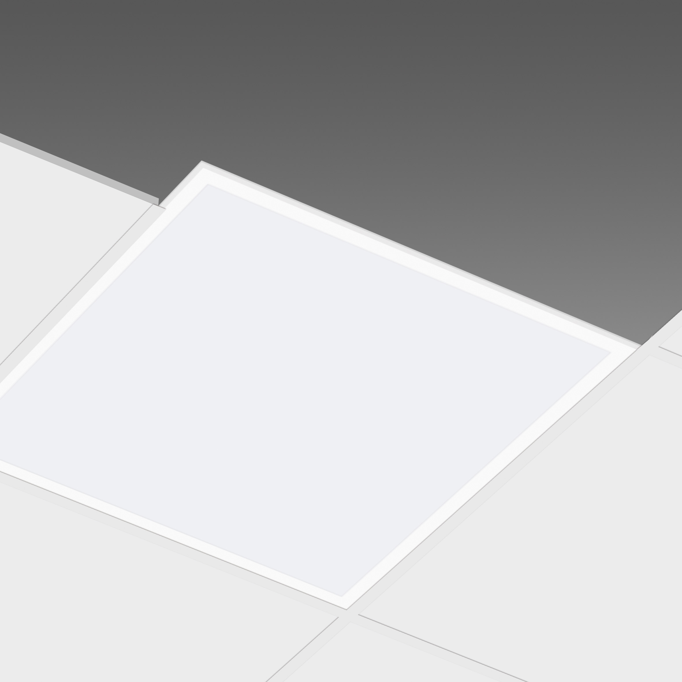 Plafoniere A Led 60x60.Led Panel 60x60 48w White Border Included Driver Led Slim