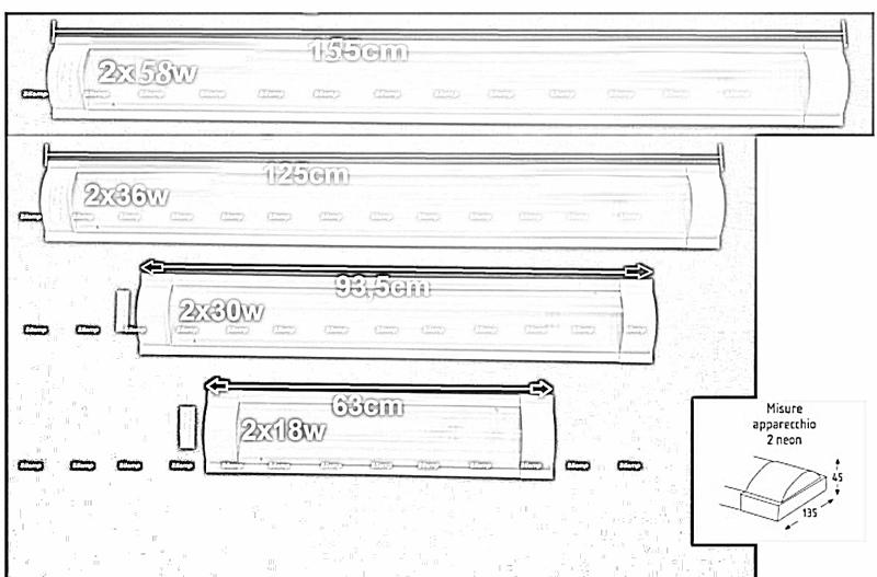 57-MX228-B2x_NOLAMPS-2x30w - Offerte plafoniere pannelli LED SILAMP ...