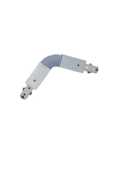 Connettore snodabile bianco MONO
