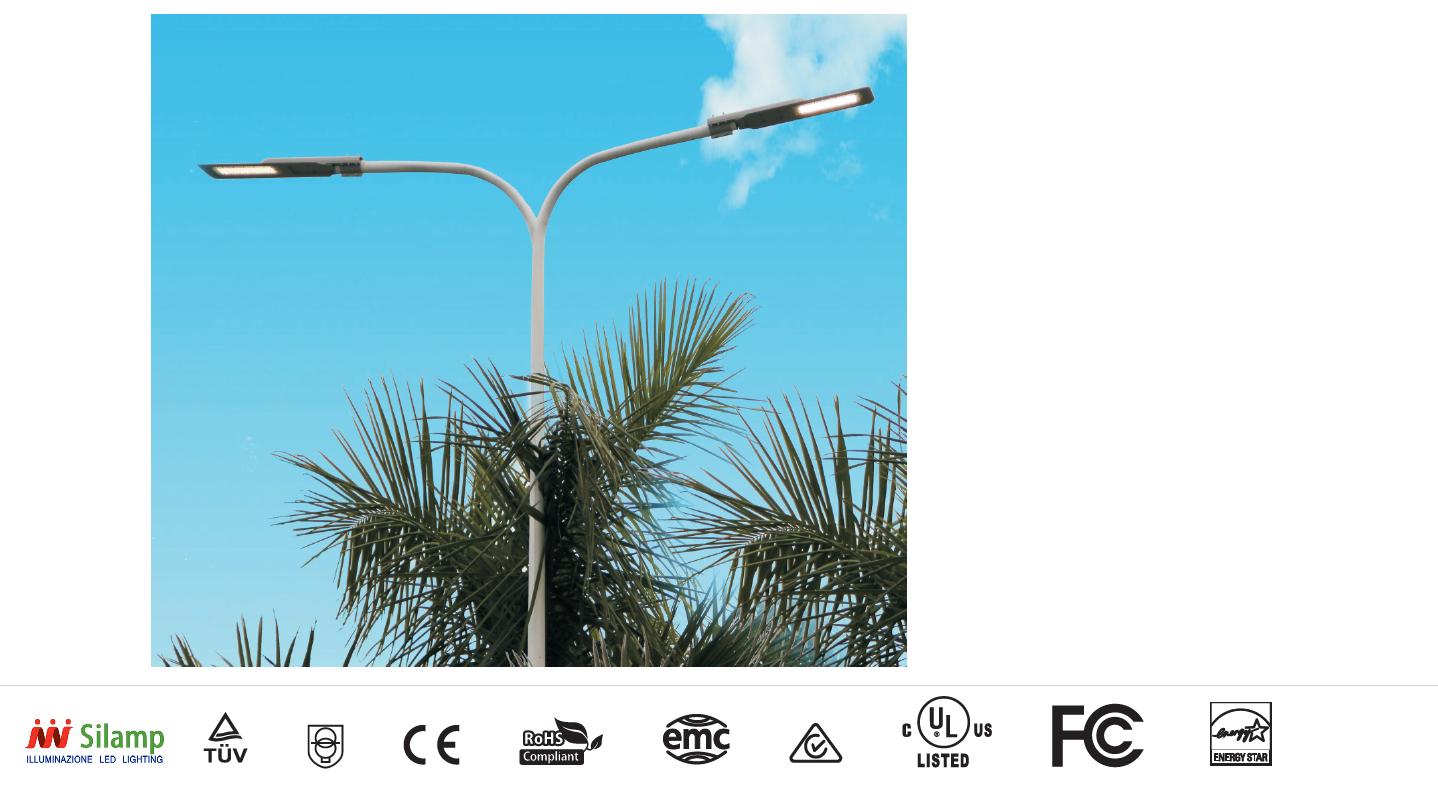 STR-100W - Faretti e Fari LED - - Lampione lampada led stradale ...