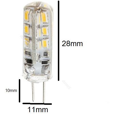 Lampadine Led G4 12v.G4 Led Bulb 2w 12v Lamp Bulbs G4 Also Spotlights Led G4
