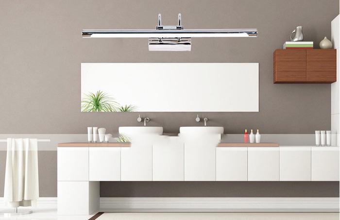 B w applique led lampada led da parete w quadro bagno
