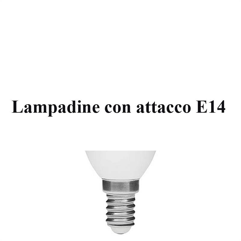 Lampadine con attacco e14