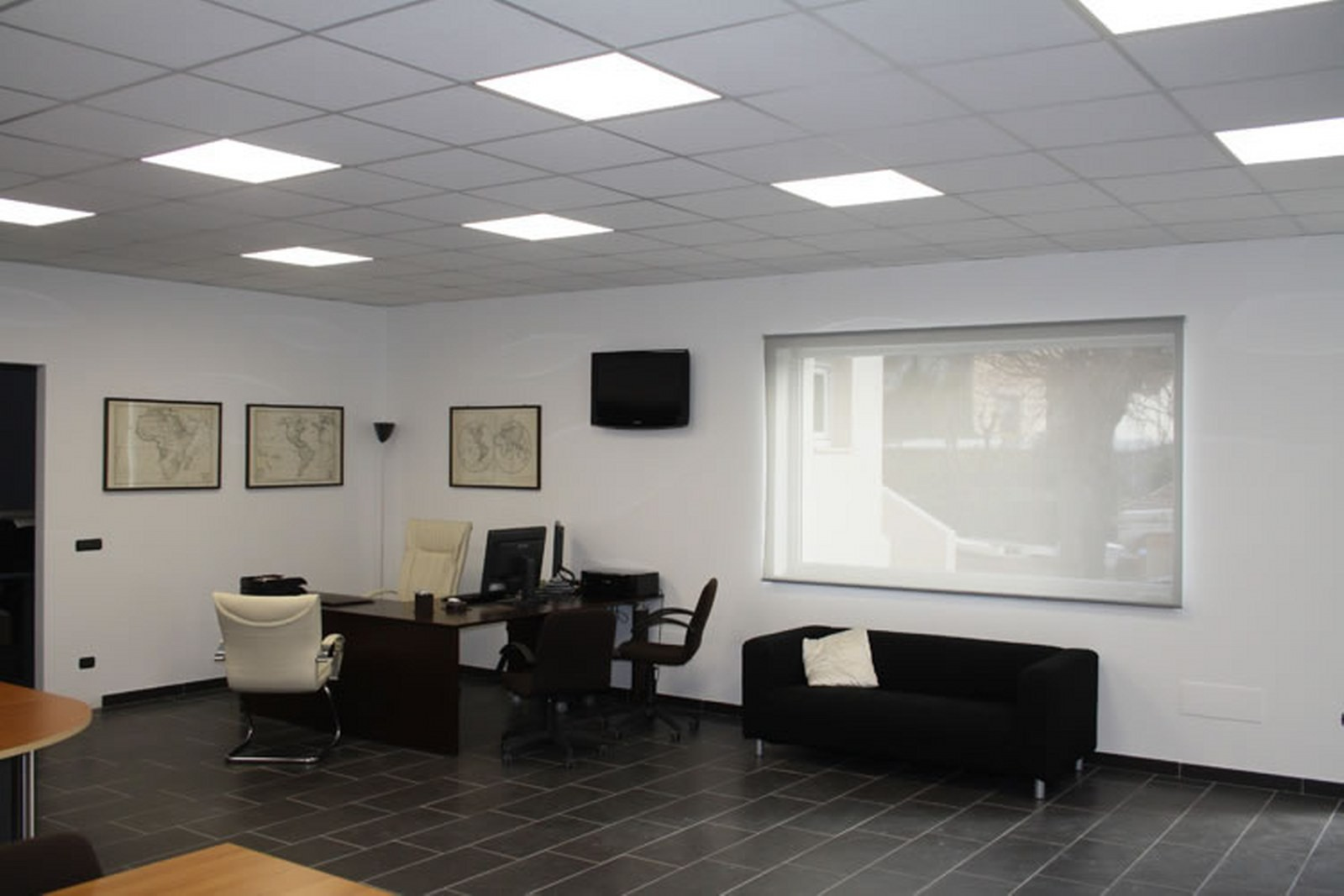 Plafoniere Da Controsoffitto A Led : Panel m bordobianco pannelli led pannello